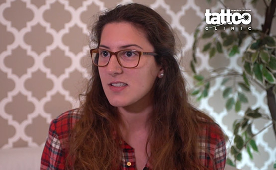 Vídeo - Como é remover uma tatuagem| Vídeo do Testemunho da Sara Teixeira